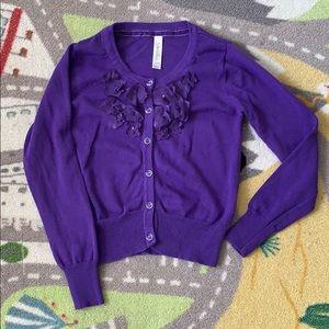 Girls Purple Sweater from Cherokee